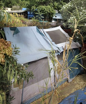 Jaycee Dugard kidnapping: A tent and shacks in the backyard where Jaycee lived