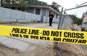 Jaycee Dugard kidnapping: Police tape is stretched across the front of the home of Phillip Garrido