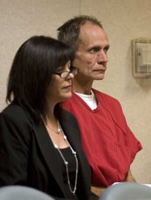 Jaycee Dugard kidnapping: Phillip Garrido sits in court during his arraignment with his attorney
