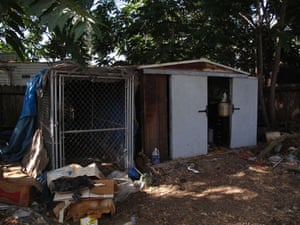 Jaycee Dugard kidnapping: A shed and wire cage in Phillip Garrido's backyard