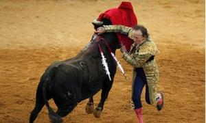 British matador Frank Evans, 67