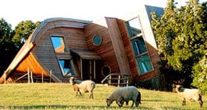 Cabins: Espejo de Luna, Chiloe, Chile