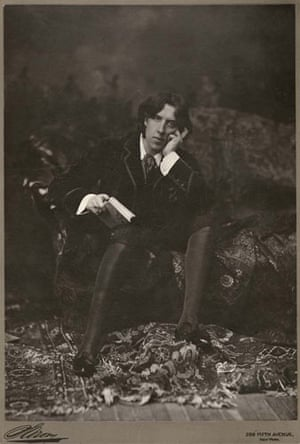 Points of View book: Portrait of Oscar Wilde, New York, 1882