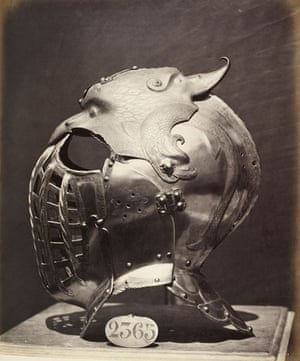 Points of View book: Helmet of the Emperor Charles V, in the Royal Armoury, Madrid, c.1862