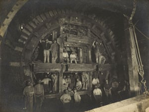 Points of View book: Construction work on the Central Line of the London Underground, 1898
