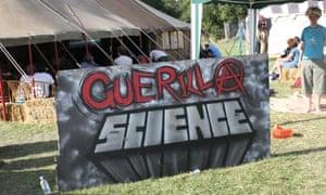 Guerilla Science at the Secret Garden Party