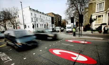 London Congestion Charge aera