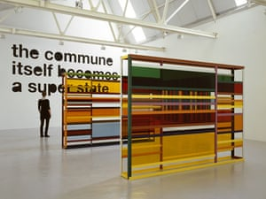 Text and art: Liam Gillick, The Commune Itself Becomes A Super State, 2007