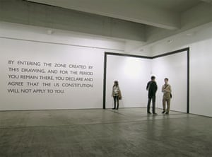 Text and art: Carey Young, Declared Void, 2005