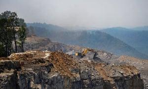 Kayford mountain in West Virginia