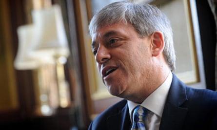 The Speaker of the House, John Bercow
