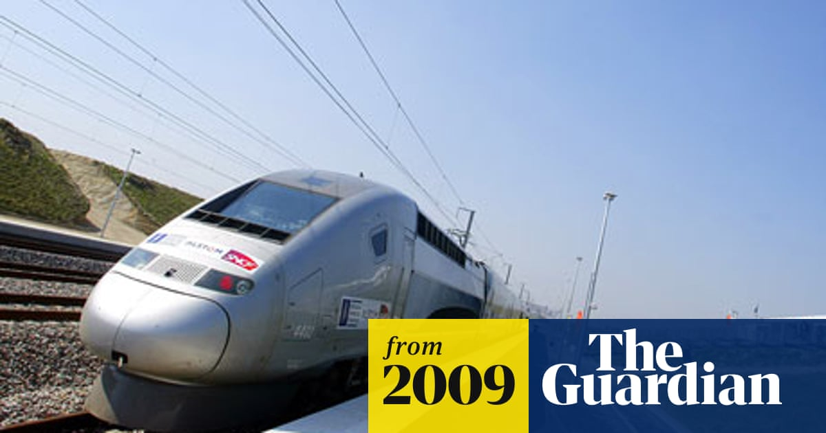 High Speed Rail In France Way Out In Front And Pushing Further Ahead Rail Transport The Guardian