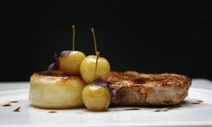 Pork chop with cider