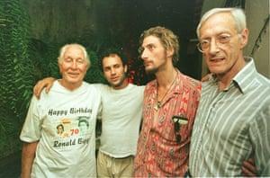 Biggs: Ronnie Biggs celebrates his 70th birthday
