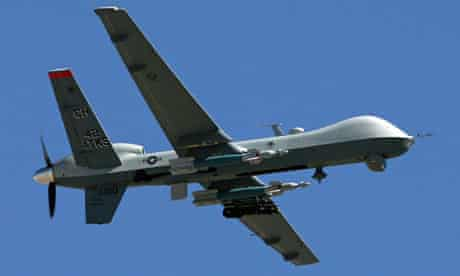 A Reaper drone, as used by the CIA and American military in Pakistan and Afghanistan
