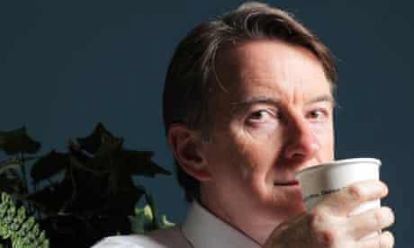 Peter Mandelson in Leeds