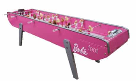barbie football