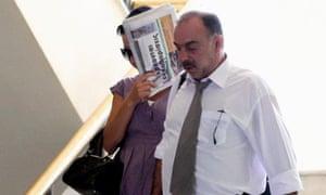 Marina Fanouraki leaving court