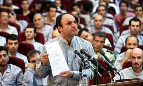 The Iranian chief analyst of the British embassy in Tehran, Hossein Rassam.