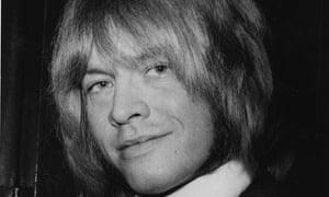 The late Rolling Stones guitarist Brian Jones