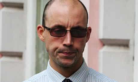 Matthew Single outside Nottingham magistrates court