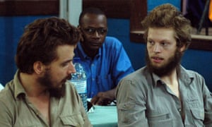 Norwegians Tjostolv Moland and Joshua French in court in Congo