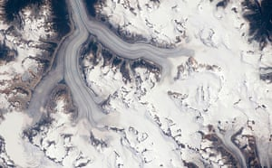 Satellite Eye on Earth: The Heiltskuk Icefield in the southern Coast Mountains of British Columbia