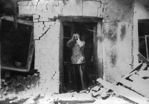 WW2 begins: Farmer In Despair poland 1939