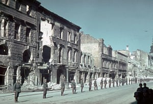 WW2 begins: Germans prepare for victory parade after invasion of poland 1939