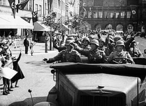 WW2 begins: Nazi soldiers in Danzig 1939