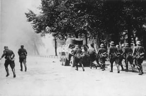 WW2 begins: Polish Soldiers Attack in Danzig 1939