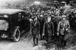 WW2 begins: Captured Polish Soldiers  1939