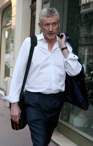 Bankers one year on: Fred Goodwin in Nice, France in July 2009