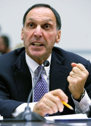 Bankers one year on: Chairman and CEO of Lehman Brothers Richard Fuld Jr.