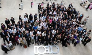 10:10 climate change campaign  launch at Tate gallery, London