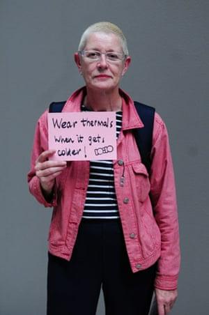 10:10 launch pledges: Sue Egan holds her 10:10 pledge