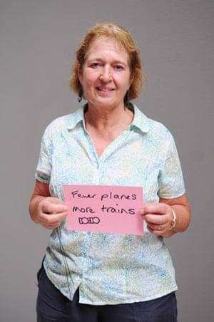 10:10 launch pledges: Anna Torode holds her 10:10 pledge