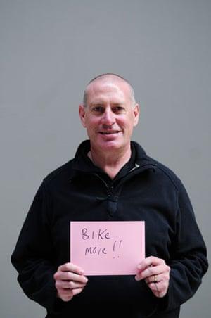 10:10 launch pledges: Noel Frame holds his 10:10 pledge