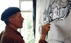 Art world outsider Billy Childish.