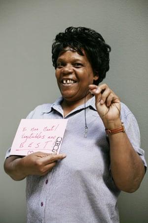 10:10 launch pledges: Angela Williams holds her 10:10 pledge