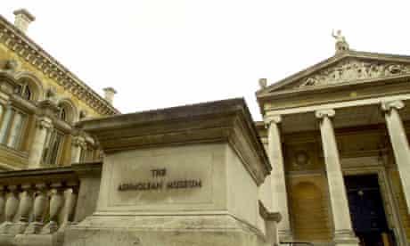 Flickr plinth watch: The Ashmolean museum, Oxford