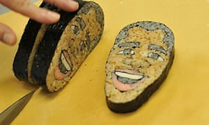 Food faces: Obama sushi