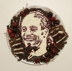 Food faces: Rio Ferdinand cake portrait