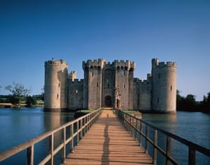 10 of the best: castles: Bodiam Castle, East Sussex
