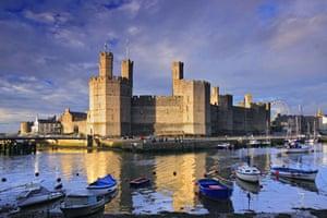 10 of the best: castles: Caernarfon Castle, Conwy