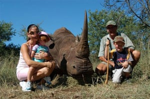 Trophy hunting in Africa: The rhino