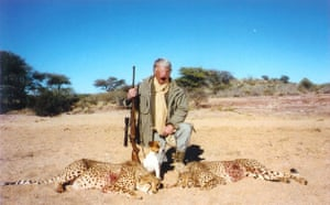 Trophy hunting in Africa: The cheetah