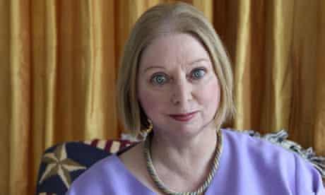 Booker prize nominated author Hilary Mantel