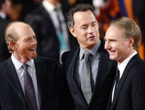 Dan Brown latest novel: Director Howard and actor Hanks joke with author Brown