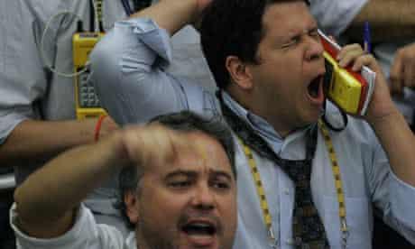 Brazilian stock traders